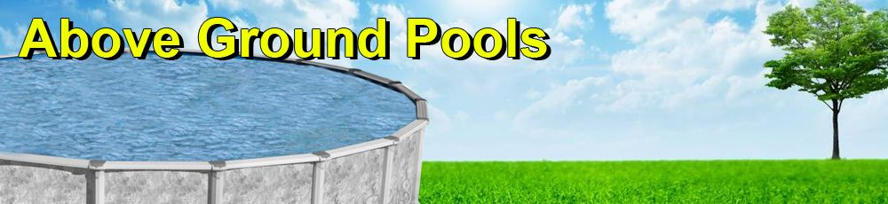 Above Ground Pools From $382