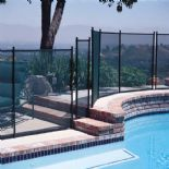 GLI Protect-A-Pool Inground Removable Safety Fence - 4ft x 10ft